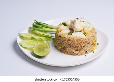 Thai's style crab meat fried rice.