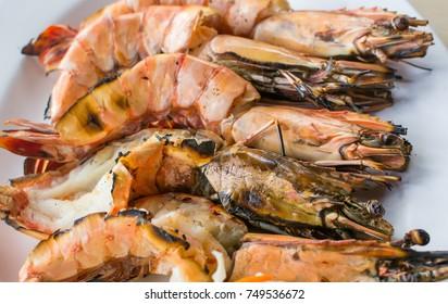 Thai-style grilled shrimp