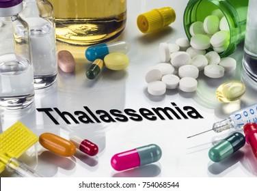 Thalassemia, Medicines As Concept Of Ordinary Treatment, Conceptual Image