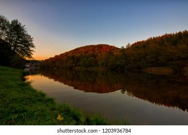 Thalersee lake in Graz