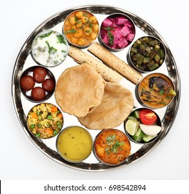 Thali Traditional Rajastani (Indian) Meal