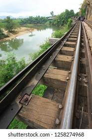Tham Kra Sae bridge of Thai-Burma Railway