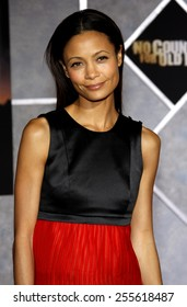 "Thandie Newton attends the Los Angeles Premiere of ""No Country For Old Men"" held at the El Capitan Theater in Westwood, California, United States on November 4, 2007."