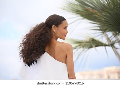 Thandie Newton attends the photocall for 'Solo: A Star Wars Story' during the 71st annual Cannes Film Festival at Palais des Festivals on May 15, 2018 in Cannes, France.