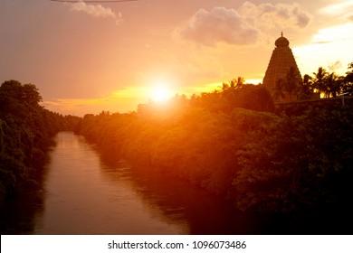 Thanjavur \ Brihadeeswarar Temple Temple in south India
