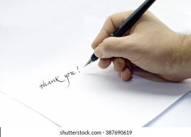 Thank you - Fountain pen