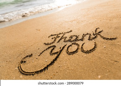 Thank You, Gratitude, Beach.