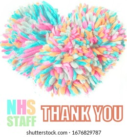 Thank you NHS Staff for your service in face of worldwide coronavirus crisis