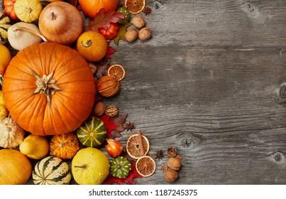 Thanksgiving darrangement background