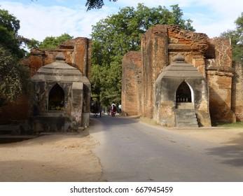Tharabha Gate of Bagan Ruins