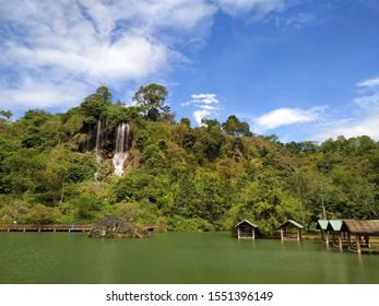 Thararak Waterfall (Nam tok Thararak) Mae sot District / Phop phra District, Tak, Thailand