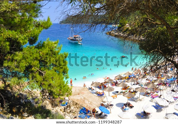 Thassos Greek Island Greece Stock Photo Edit Now 1199348287