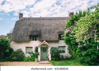 Thatched Cottage English Village House