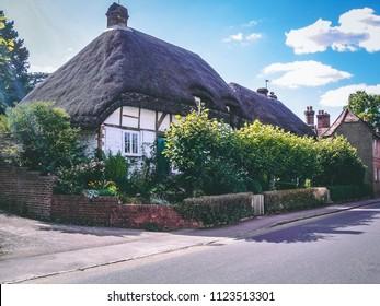 Thatched Cottage's, Chawton Hampshire, England, UK