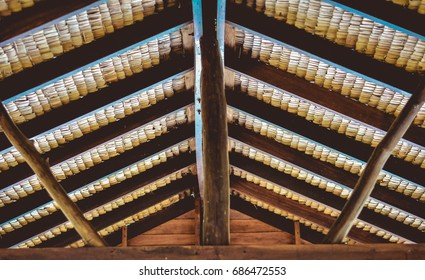 a thatch-roof