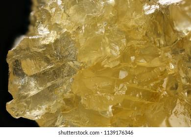 THCa Crystals (Strawberry Banana) Macro