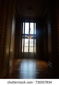 Theater Hallway