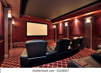 Theater with large chairs