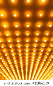 Theater lights defocused out of focus picture