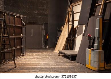 theater storage space - Shutterstock ID 372159637