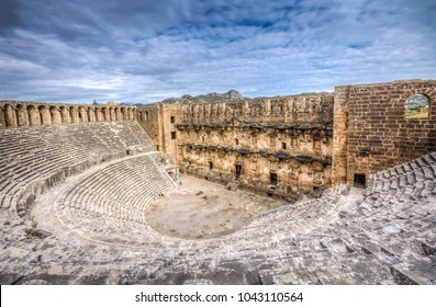 The Theatre of Aspendos Ancient City in Antalya