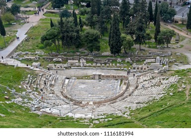 Theatre of Dionysus on the slopes of the Acropolis