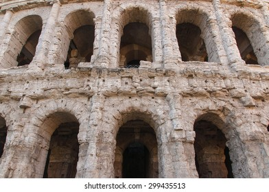 Theatre of Marcellus is an ancient open air theatre in Rome, Italy.