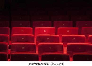 Theatre's seats
