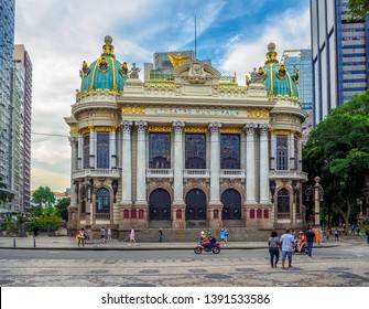 The Theatro Municipal (Municipal Theatre) is an opera house in the Centro district of Rio de Janeiro, Brazil