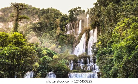 Thee Lor Sue Biggest Waterfall In Thailand