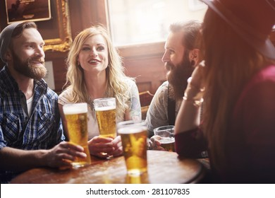 Their favourite bar with the best beer