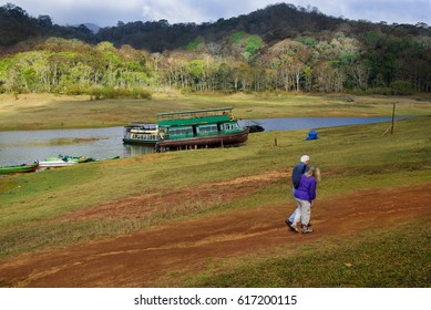 Thekkady is the location of the Periyar National Park, which is an important tourist attraction in the Kerala state of India. Beautiful nature and the lake make the place attractive.