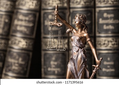 Themis statue, concept of law and justice