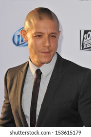 """Theo Rossi at the season 6 premiere of """"Sons of Anarchy"""" at the Dolby Theatre, Hollywood. September 7, 2013  Los Angeles, CA"""