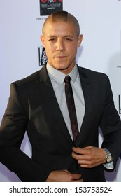 """Theo Rossi at the """"Sons of Anarchy"""" Season Six Premiere Screening, Dolby Theatre, Hollywood, CA 09-07-13"""