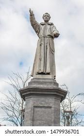 Theobald Mathew Statue O'Connell Street Dublin