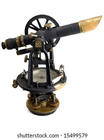 Theodolite at an angle