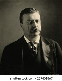 Theodore Roosevelt in 1902, shortly after he ascended to the Presidency after the assassination of President William McKinley.