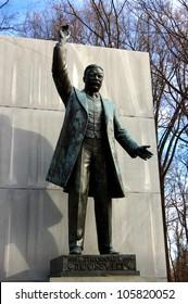 Theodore Roosevelt Memorial on Theodore Roosevelt Island in Virginia, near the Washington, D.C. border.