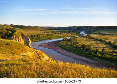 Theodore Roosevelt National Park - The Little Missouri River