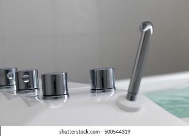 Therapy tub. Galvanic bath tub. Electrotherapy.