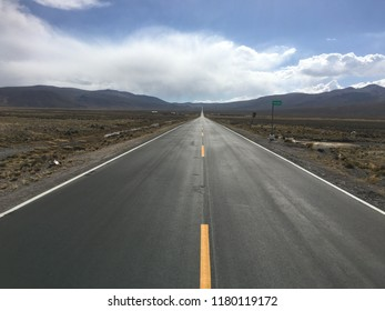 There seems to be a long road ahead of us in life, but, our path to greatness is often pretty straightforward. We simply must believe in ourselves without creating obstacles. (The Andes, Peru.)