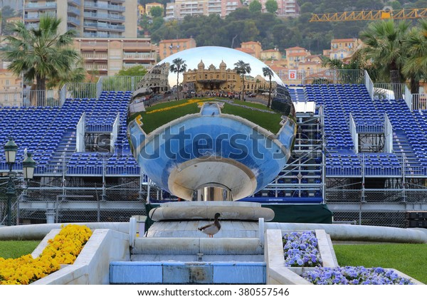 Theres Mirror Ball Front Casino Montecarlo Stock Photo Edit Now 380557546