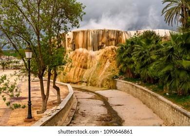Thermal complex in Guelma, Algeria.