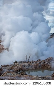 Thermal eruption in iceland