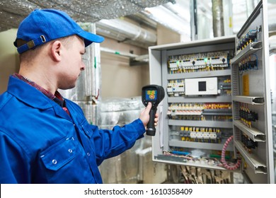 thermal imaging inspection of electrical equipment