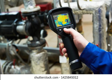 thermal imaging inspection of water pump equipment