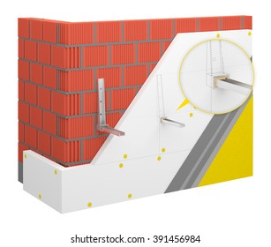 Thermal insulation system - air conditioning installation