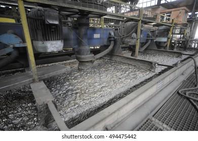 Thermal mining processing