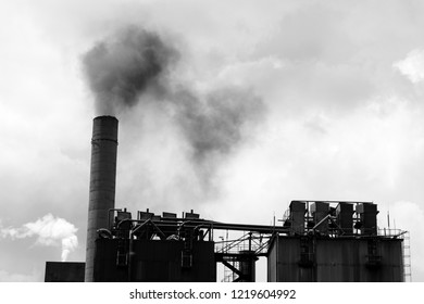 thermal power plant and air pollution